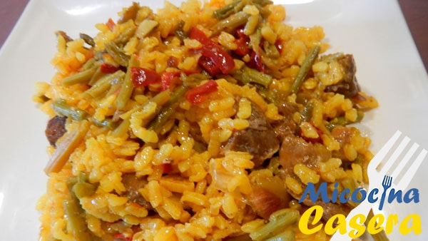 Arroz con carrillada